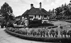 Title - Cameron Highlands 2/ Year - 1970's / Location - Cameron Highlands, Pahang / Description - The SmokeHouse