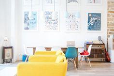 Slo Living Hostel in Lyon | Comfortable Sofas | B comme Blog