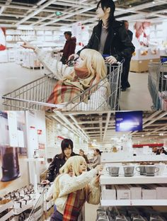 Cosplay - I wanna ride in a shopping cart, but my dad won't let me... WHO WANTS TO GO SHOPPING WITH ME