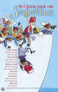 """Het Grote Boek Van SInterklaas by P. Cremers.....Sinterklaas schrijft: """"Beste kinderen van Nederland,  Het grote boek van Sinterklaas is een verhalenbundel over allerlei spannende avonturen die ik heb beleefd. Wist je wel dat de stoomboot bijna door piraten is gestolen? En dat ik een keer helemaal geen zin had om naar Nederland te komen? En dat er ook een kanariepiet bestaat? Alle verhalen zijn opgeschreven door de Verhalenpiet (met een beetje hulp van echte schrijvers). Veel plezier ermee."""""""