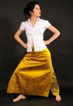 I love dupioni silk.