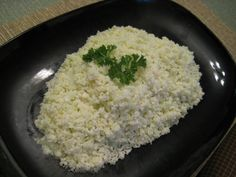 """Many low-carbers complain they can't get their riced cauliflower to come out to their liking. Some steam it over water, but that tends to overcook it and make it too """"wet"""". Some attempt sauteing ..."""