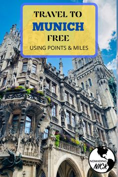 Learn Points and Miles Travel to Munich! Places To Travel, Places To See, Travel Destinations, South Korea Travel, Beautiful Places To Visit, Cheap Travel, Germany Travel, Beautiful Landscapes, Wonders Of The World