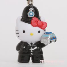 itoyoshis Gotochi Kitty collection NO.1623 United Kingdom of Great Britain and Northern Ireland ・London Limited  London Police