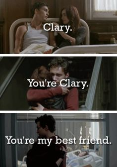 simon lewis and clary fray the mortal instruments_city of bones. Quote from CoHF Narnia, Hush Hush, Clary And Simon, Mortal Instruments Books, Shadowhunters, Shadowhunter Academy, Will Herondale, Simon Lewis, Cassandra Clare Books