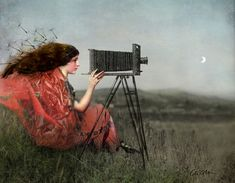 'The Observer' by Catrin Welz-Stein on artflakes.com as poster or art print $34.65