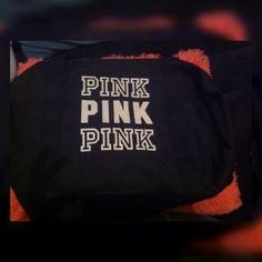 Victoria secret pink gym bag Perfect condition!!!! Never used before no marks, loose threads, holes, or flaws PINK Victoria's Secret Bags