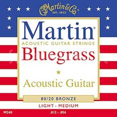 Martin 80/20 Bronze Traditional Acoustic Guitar Strings