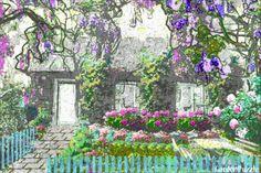 Chatka - GardenPuzzle - projektowanie ogrodów w przeglądarce