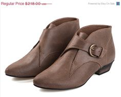 Hey, I found this really awesome Etsy listing at https://www.etsy.com/listing/113723327/on-sale-tina-brown-buckled-boots