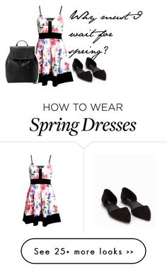 """""""Spring// Winter"""" by awesomeness1217 on Polyvore featuring Nly Shoes and MANGO"""