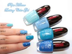 Consigli di Makeup: NOTD: Addicted to Blue, Lasting Color Gel 055,075,...
