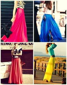 25 Impressive Maxi Skirt Outfits for Girls