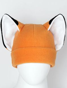 Am I a cat? Am I a fox? I don't know. People tell me I look like a fox a lot. And this hat is super cool. $23.