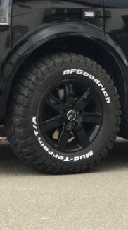 VW T5 Amarok Touareg Felgen Offroad Reifen BF Goodrich 235/70R16