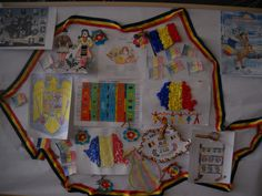 "Ghirlanda tricolora ""ce ne place in Romania"" - SuntParinte. Kindergarten Classroom Setup, 1 Decembrie, Diy And Crafts, Projects To Try, School, Montessori, Pictures"