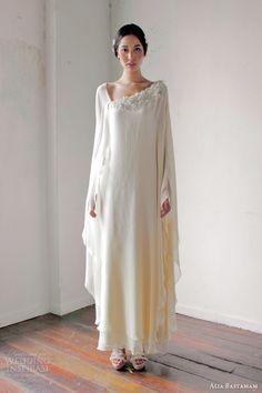 robe de mariée forme kaftan