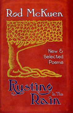 Rod McKuen, Rusting in the Rain - Cover Design by Richard Kegler