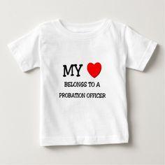 My Heart Belongs To A PROBATION OFFICER T Shirt, Hoodie Sweatshirt