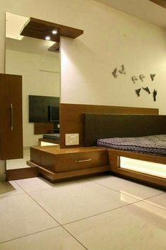 Bedroom Designs India, Bedroom Cupboard Designs, Wardrobe Design Bedroom, Luxury Bedroom Design, Master Bedroom Interior, Bedroom Bed Design, Bedroom Furniture Design, Home Room Design, Bedroom Modern