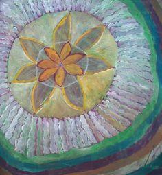 Kazimiera Myk-Magdziak ''Kwiat Nieba''-obraz olejny