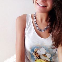 Jasmine Blossom Statement Necklace #ootd #fashionista -  22,90 € @happinessboutique.com