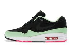 Nike Air Max 1 FB (Black/Black-Fresh Mint-Pink Flash)