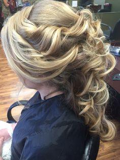 Romantic mermaid hair Salon Elizabeth Buffalo Ny Lizzydugan.com