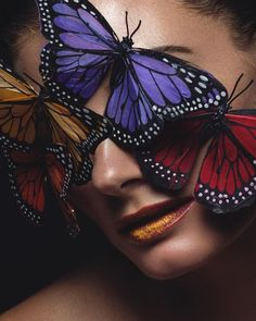 I was putting together a beauty photoshoot with my team and came up with the #butterfly idea from some images we saw. We decided to use the large butterflies as a mask and use some yellow makeup powder on the lips to simulate pollen. This was the end result. #MyCanonStory #Portrait #PortraitPhotography Photo Credit: @tatanzuleta Camera: Canon EOS 7D Lens: #Canon EF 85mm f/1.8 USM Aperture: f/16 ISO: 200 Shutter Speed: 1/200 sec Focal Length: 85mm via Canon on Instagram - #photographer…