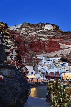 Ammoudi Port - Oia, Santorini