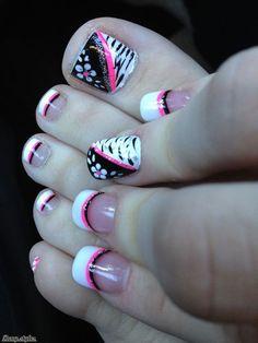 Toe nail Designs You Gotta Love It - Reny styles