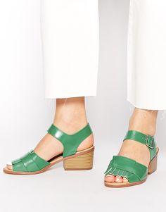 Truffle Collection Shana Fringe Heeled Sandals