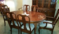 Excellent Dining Room Set by Pennsylvania House cludes Queen