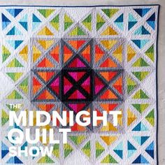 Stained Glass Spectrum Quilt- see the video tutorial on matching colors