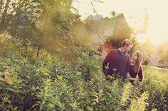 Engagement Photography #engaged #engagementsession #sunset #fall #grasses #bellasaluti