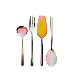 ABC Carpet & Home Iridescent Serving Utensils