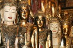 Shop at Chatuchak Weekend Market, Bangkok, Thailand - Bucket List Dream from TripBucket Buddha Life, City Of Angels, Bangkok Thailand, Statue, Marketing, Sisters, Bucket, Shopping, Places