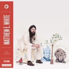 """Stream Matthew E. White """"Big Love"""" by Matthew E. White from desktop or your mobile device Tapas, Four Tet, Jorge Ben, Morning Music, Sunday Morning, Randy Newman, The Hollywood Bowl, Warner Music Group, Shops"""