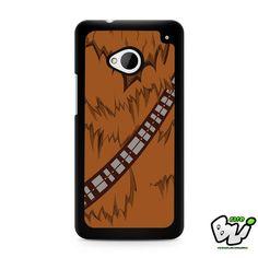 Brown Body Chewbacca Star Wars HTC G21,HTC ONE X,HTC ONE S,HTC M7,M8,M8 Mini,M9,M9 Plus,HTC Desire Case
