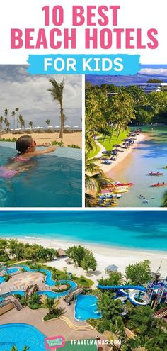 10 Best Beach Hotels for Kids According to Family Travel Experts! 10 Best Beach Hotels for Kids According to Family Travel Experts! Looking for a dreamy beach hotel for families? You'll love this list of beachfront resorts and hotels! Bora Bora, Camping Hacks With Kids, Travel With Kids, La With Kids, Best Family Vacations, Family Travel, Romantic Vacations, Vacation Ideas For Families, Florida Family Resorts
