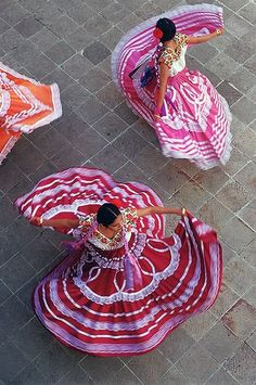 Mexico - Oaxaca dancers by Bob Krist.