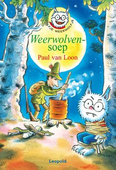 Dolfje Weerwolfje rent door het Weerwolvenbos. Een stem echoot tussen de bomen: 'Ik ruik weerwolvenvlees!' Het is Knuppel – de jager. In het Handboek voor weerwolfjagers heeft hij gelezen dat je van weerwolven lekkere soep kunt maken. Zijn kookpot staat klaar.  Dolfje is gevangen! Hoe redt hij zichzelf uit de soep? Dolfje verzint het ene verhaal na het andere, de hele weerwolfnacht lang. Maar is dat genoeg om Knuppel op andere gedachten te brengen?