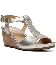 816e05ec94d14b Naturalizer Camilla Wedges Slide Sandals