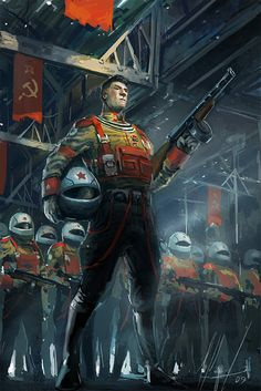 Nuclear Russian Soldier by *neisbeis on deviantART