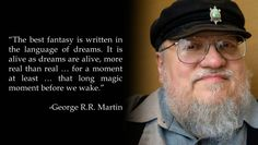 <b>Happy birthday, George. Here's to many more.</b> Seriously, many, <i>many</i> more. You've got some books to finish.