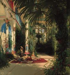Victorian era Palm House.