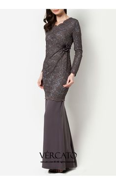 French Fashion Tips .French Fashion Tips Dress Brukat, Hijab Dress Party, Batik Dress, Dress Outfits, Kebaya Dress, Prom Dress, Wedding Dress, Muslim Fashion, Hijab Fashion