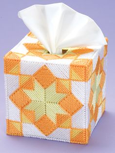 Quilts in the Kitchen | kleenex box cover |