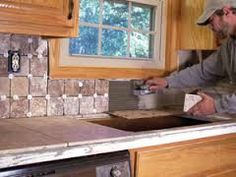 Image result for tile countertops