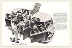 1966 Volkswagen Bus Brochure I OldBrochures.com